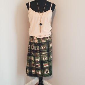 Lane Bryant Plaid Short Skirt